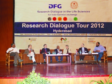 DFG event on UoH campus