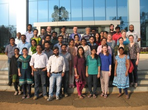 Group and collaborators in Winter School March 2015