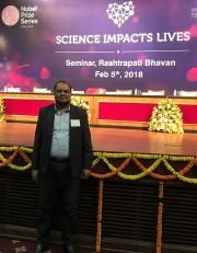 At a seminar at the Presidential Palace, New Delhi
